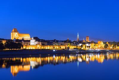 Europe, Poland, Gdansk and Pomerania, Torun, UNESCO Medieval Old Town, Vistula River-Christian Kober-Photographic Print
