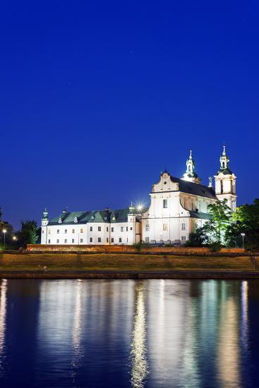 Europe, Poland, Malopolska, Krakow, Church on the Rock-Christian Kober-Photographic Print