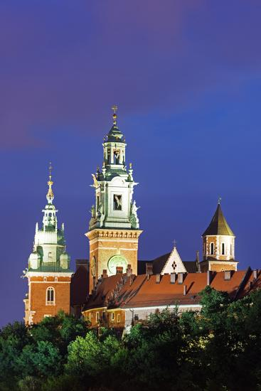 Europe, Poland, Malopolska, Krakow, Wawel Hill Castle and Cathedral, UNESCO Site-Christian Kober-Photographic Print