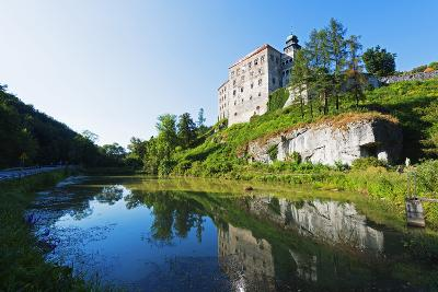 Europe, Poland, Malopolska, Ojcow National Park, Pieskowa Skala Castle-Christian Kober-Photographic Print