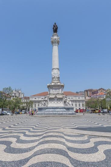 Europe, Portugal, Lisbon, Monument of King Pedro Iv-Lisa S^ Engelbrecht-Photographic Print