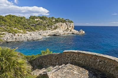 Europe, Spain, Majorca, Cliff-Lined Bay Platja D'Or-Chris Seba-Photographic Print