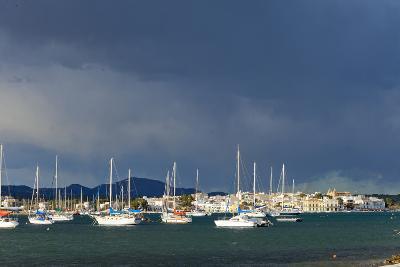 Europe, Spain, Majorca, Fishing Village Porto Colom, Harbour-Chris Seba-Photographic Print