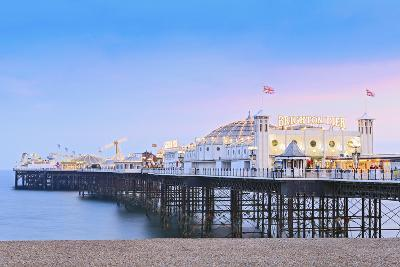 Europe, United Kingdom, England, East Sussex, Brighton and Hove, Brighton, Palace (Brighton) Pier-Alex Robinson-Photographic Print