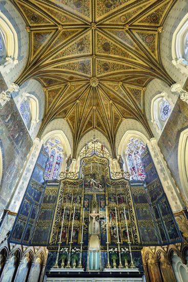 Europe, United Kingdom, England, Lancashire, Lancaster, Lancaster Cathedral-Mark Sykes-Photographic Print