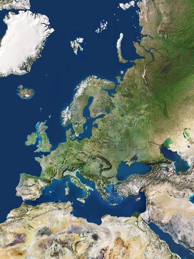 Europe-PLANETOBSERVER-Premium Photographic Print