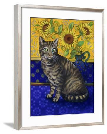 European Cat, Series I-Isy Ochoa-Framed Giclee Print