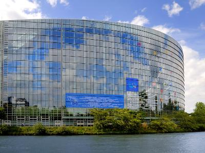 European Parliament, Strasbourg, Alsace, France, Europe-Richardson Peter-Photographic Print