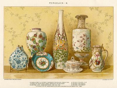 European Porcelains by Julius Bien, C.1880-Julius Bien-Giclee Print