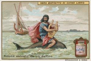 Arion and the Dolphin by European School