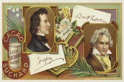 Frederic Chopin and Ludwig Van Beethoven