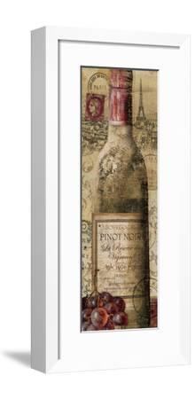 European Wines II--Framed Premium Giclee Print