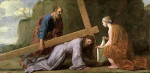 Christ Carrying the Cross, circa 1651 by Eustache Le Sueur