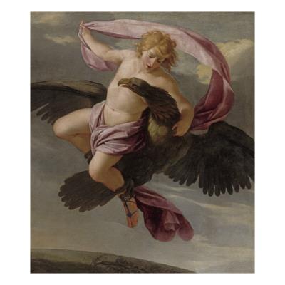 Ganymède enlevé par Jupiter