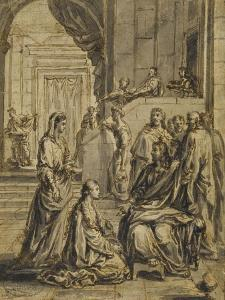 Jésus chez Marthe et Marie by Eustache Le Sueur
