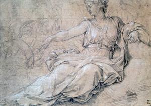 Juno and Carthage, C1636-1655 by Eustache Le Sueur