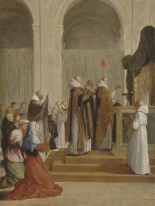 Messe de saint Martin, évêque de Tours by Eustache Le Sueur