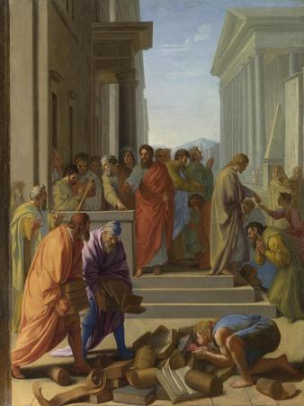 Saint Paul Preaching at Ephesus, 1649