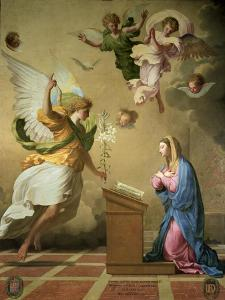 The Annunciation, Before 1652 by Eustache Le Sueur
