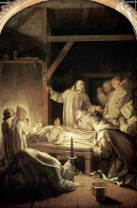 The Death of St. Bruno by Eustache Le Sueur