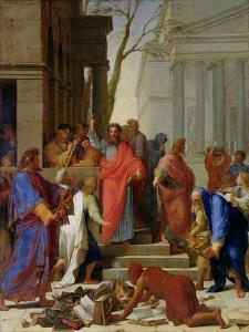 The Sermon of St. Paul at Ephesus, 1649 by Eustache Le Sueur