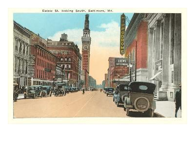 Eutaw Street, Baltimore, Maryland--Art Print