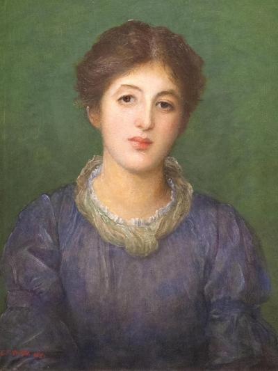 Euterpe Ionides, 1881-George Frederick Watts-Giclee Print