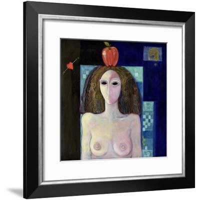 Eva, 2004-Laila Shawa-Framed Giclee Print