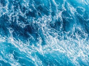 Turbulent Tasman Sea III by Eva Bane