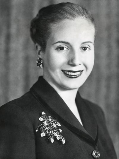 Eva Duarte De Peron, Wife of Argentine President Juan Domingo Peron--Photo
