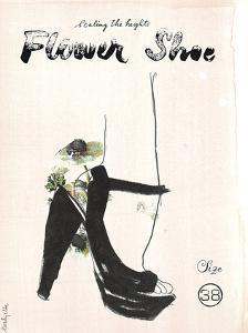 Flower Shoe by Eva Hjelte