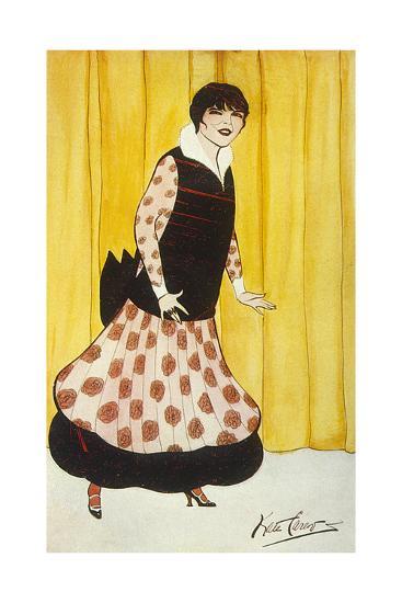 Eva Lavalliere, Carew-Kate Carew-Giclee Print