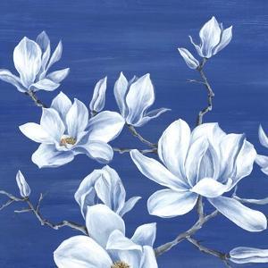 Blooming Magnolias I by Eva Watts