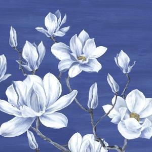 Blooming Magnolias II by Eva Watts
