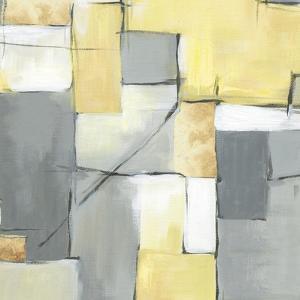 Golden Abstract I by Eva Watts