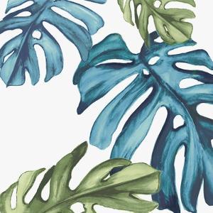 Palm Leaves I by Eva Watts
