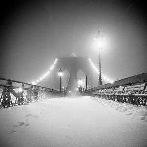 Bridge and Blizzard by Evan Morris Cohen