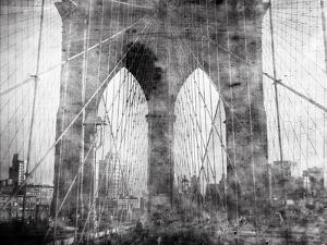 Brooklyn Bridge in Verichrome by Evan Morris Cohen