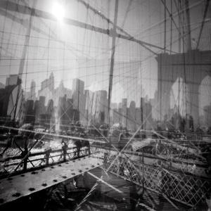 Brooklyn Bridge Triple by Evan Morris Cohen