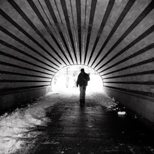 Central Park Tunnel by Evan Morris Cohen