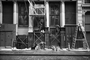 Soho Construction by Evan Morris Cohen