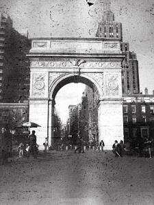Washington Arch in Plenachrome by Evan Morris Cohen