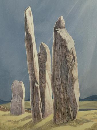 Tall Stones of Callanish, Isle of Lewis, 1986-7 by Evangeline Dickson