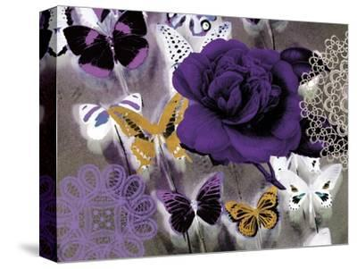 Butterfly Collage Purple