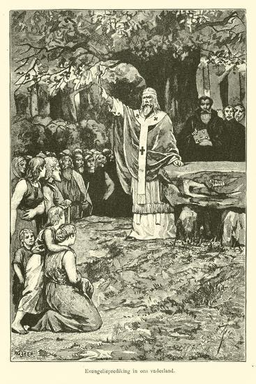 Evangelism in Our Homeland-Willem II Steelink-Giclee Print