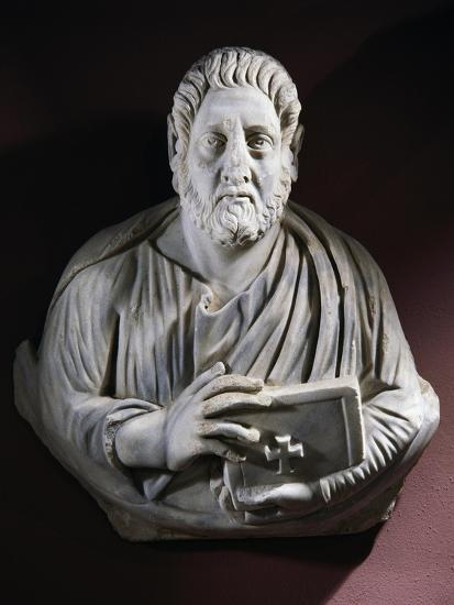 Evangelist Bust from the Monastery of Stoudios, Istanbul, Turkey--Giclee Print