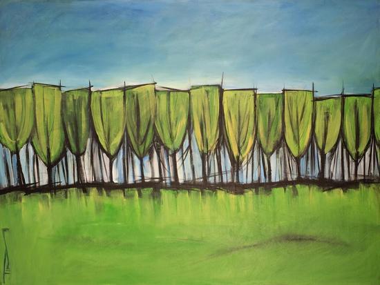Evangelist Trees-Tim Nyberg-Giclee Print