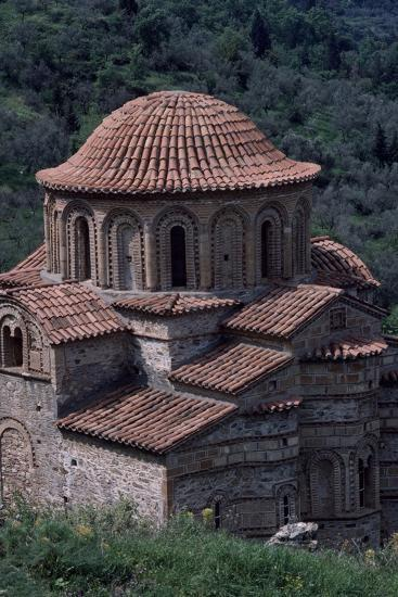 Evangelistria Church of Mistra, Greece, 14th-15th Century--Giclee Print