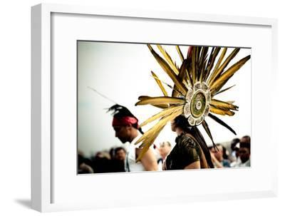 Native Aztec Dance Performance