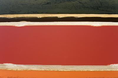 Evaporation Ponds for the Commercial Extraction--Photographic Print